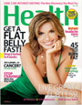 Health magazine cover